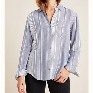 NWT Maeve by Anthropologie Button Down